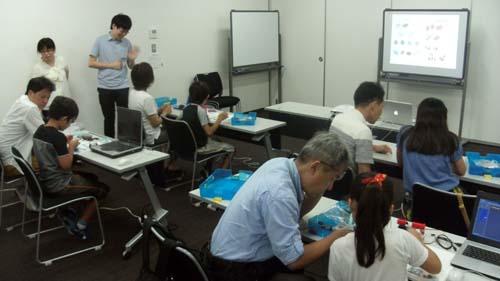 ロボットプログラミング教室02